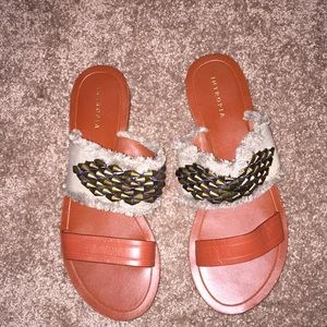 Anthropologie Intropia Sandals